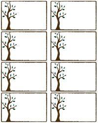 printable tags | Free Printable Name Tags | ✍✄Printables ...
