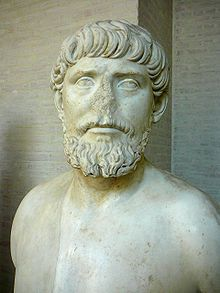 Apollodorus of Damascus was a Greek engineer from Syria, architect, designer and sculptor who flourished during the 2nd century AD, from Damascus, Roman Syria.[2] He was a favourite of Trajan, for whom he constructed Trajan's Bridge over the Danube for the 105-106 campaign in Dacia.