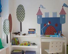 Stickerset Ritter – Wanddekoration im Kinderzimmer