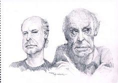 Eduardo Galeano | Fede CARICATURAS
