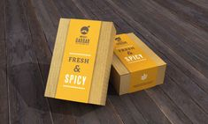 Indian Cafe & Restaurant - Branding by Jekin Gala