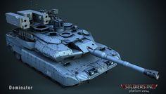"ArtStation - Dominator | ""Soldiers.Inc"" | Plarium, Vladimir Silkin"