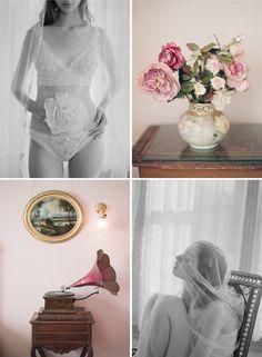 O que tem por baixo de um lindo vestido. Lingerie de núpcias de Claire Pettibone. #colherdechanoivas