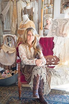 Brandi Harper from Spellbound Collection is featured in the Feb/Mar/Apr '14 issue of Where Women Create #designer #studio | Photography by April Pizana