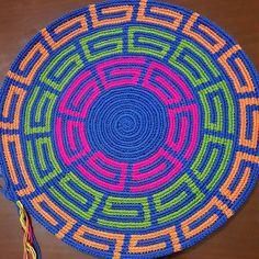 Tapestry Crochet Patterns, Modern Crochet Patterns, Mochila Crochet, Crochet Kitchen, Macrame Bag, Crochet Chart, Crochet Purses, Knitted Bags, Knitting