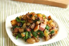 Leftover Turkey Potato Hash