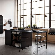 We just fell in love with a new kitchen collection Selected Oak by Swedish brand Ballingslöv. The designers have found the perfect combination of gorgeous ✌Pufikhomes - source of home inspiration Rustic Farmhouse Furniture, Farmhouse Chairs, Home Decor Kitchen, Kitchen Interior, Kitchen Design, Bistro Kitchen, New Kitchen, Kitchen Island, Earthy Decor