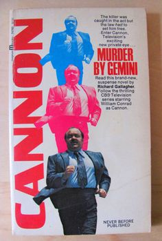 Vintage Paperback Book Cannon Murder By Gemini by preciousowl