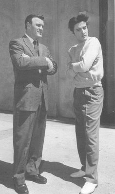 Elvis and Eddie Arnold