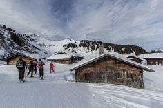Schneeschuhtour in den Waadtländer Alpen #Bretaye #Villars #Lac des Chavonnes #winter