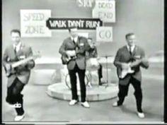 """The #Ventures, este grupo musical fue muy conocido, incluso por generaciones siguientes, por sus instrumentales, aquí con el tema """"Walk don't run"""" (#1960) http://youtu.be/qAZP_gLNHSY"""
