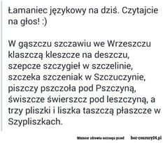 Najlepsze materiały Keep Smiling, Poland, Texts, Haha, Funny Memes, Knowledge, Language, Teaching, Marketing