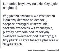 Keep Smiling, Poland, Texts, Haha, Thats Not My, Funny Memes, Language, Shit Happens, Teaching