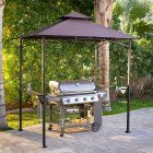 Coral Coast Graham 8 x 5 ft. Grill Gazebo