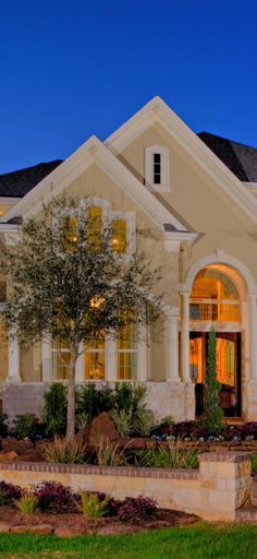 A detailed exterior with #white trim... #frontyard #exterior #newhome #homedesign