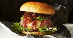 """""""Making the best burger isn't rocket science. You just want to make sure you get lots of flavour into every mouthful. And you will get the best results with a homemade meat patty."""" (Colin Fassnidge)"""