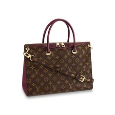 e85b11a3a Pallas. Vista 1 - Pallas Lona Monogram Mujer Bolsos Business | LOUIS VUITTON