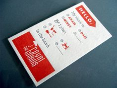 Creative and Interesting Business Cards