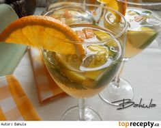 zázvorová limonáda Cocktail Drinks, Alcoholic Drinks, Cocktails, Punch Bowls, Health, Food, Smoothie, Gardening, Lemon