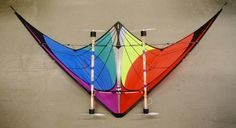 Kite with #wind powered LEDs. Personal Fabrication for a Self-Sustaining World: Webinar Recording | #Sustainability Workshop. #maker