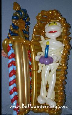 King Tut Twist Balloon