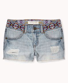 Desert Princess Denim Shorts | FOREVER21 girls - 2055078633