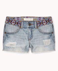 Desert Princess Denim Shorts | FOREVER21 girls - 2055078633