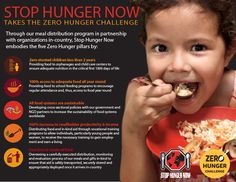 Stop Hunger Now is taking the Zero Hunger Challenge - what about you?