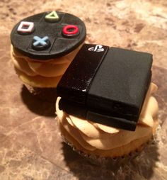 PS4 Cupcakes