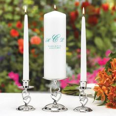 I love the design for the candle holders