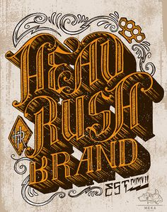 Great typography & lettering works | From up North