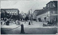 Na pl. Piastowskim w Cieplicach. Street View