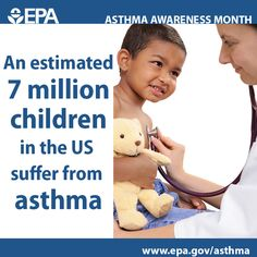 7 million children in the U.S. suffer from asthma. You can help your child manage environmental triggers and control their asthma.