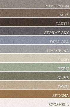 pacific northwest color schemes - Google Search