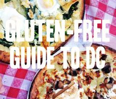 Brightest Young Things highlights different gluten free options around DC. Stop in Founding Farmers for a great gluten free meal!