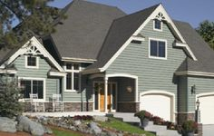 Love everything about how this house looks! ..CertainTeed Fiber Cement Pict - 05