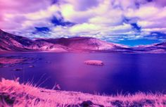 Infra Red Lake | by Fin Moorhouse