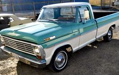 Nothin says lovin like an old FORD truck, I need this to tow my '57 Shasta trailer