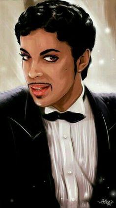 Marvelous portrayal of Prince.