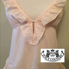 Juicy Couture top So pretty and romantic. In perfect condition. Juicy Couture Tops Tank Tops