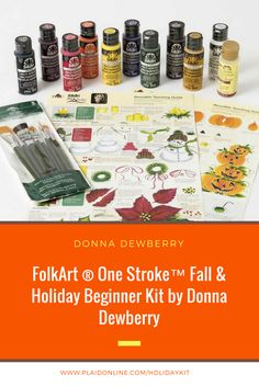One Stroke With Donna Dewberry