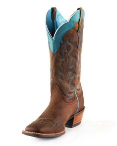 country boots for women | cowboy boots are too cool! Ariat Women's Caballera Boot from Country ...