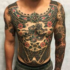 body traditional tattoos