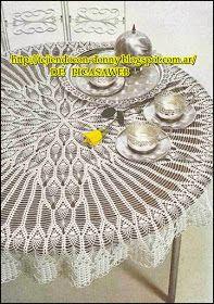 crochet fabric , CROCHET - GANCHILLO - PATRONES - GRAFICOS: crochet tablecloth fabric