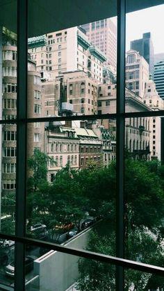 New York city window view Concrete Jungle, City Vibe, City Aesthetic, Urban Aesthetic, City Photography, Adventure Travel, Vancouver, New York City, Travel Inspiration