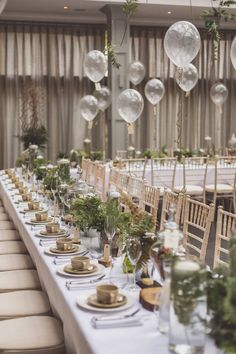 Simple yet elegant-dream table decor for my botanical engagement theme