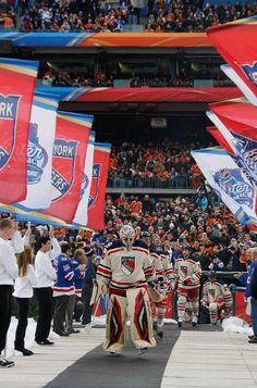 NY Rangers at Winter Classic