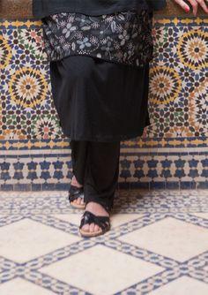 Nederdel i bomuld/modal–Nederdele & kjoler–GUDRUN SJÖDÉN – Kläder Online & Postorder