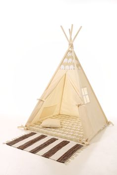 Kids teepee play tent wigwam, children's teepee, playtent, tipi, wigwam, kids teepee, tent, play teepee, high quality wigwam by letterlyy on Etsy https://www.etsy.com/listing/257174149/kids-teepee-play-tent-wigwam-childrens