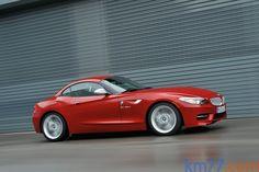 BMW Z4 sDrive35is Paquete Deportivo M Descapotable Karmesinrot Exterior Lateral-Frontal 2 puertas